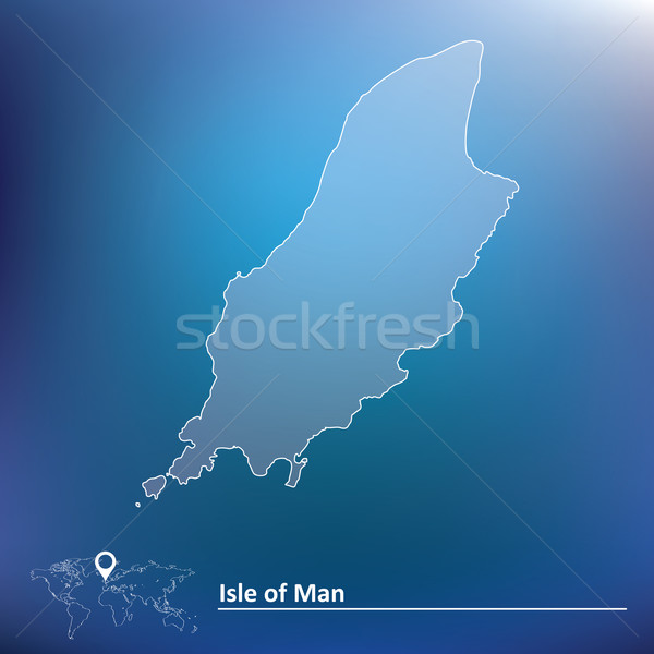 Map of Isle of Man Stock photo © ojal