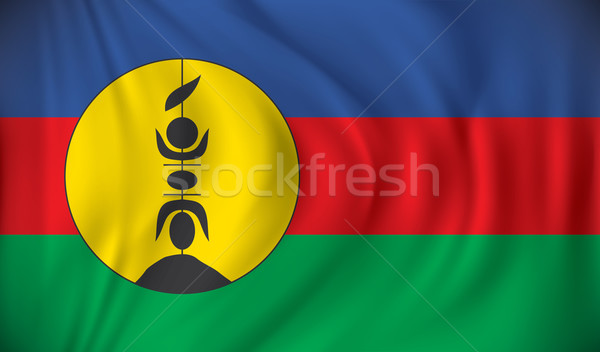 Flag of New Caledonia Stock photo © ojal