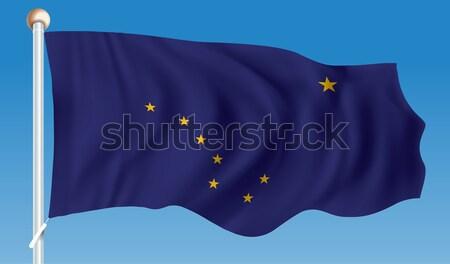 Flag of Alaska Stock photo © ojal