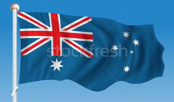 Flag of Australia Stock photo © ojal