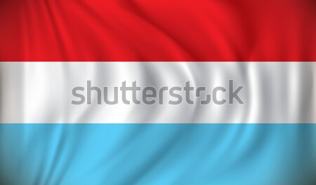 Flag of Luxembourg Stock photo © ojal