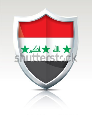Shield with Flag of Abkhazia Stock photo © ojal