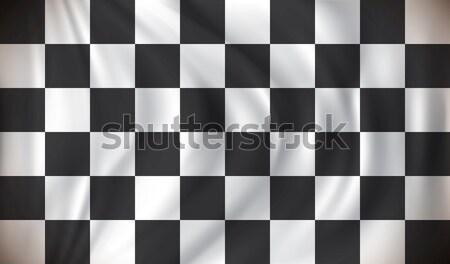 Checkered Race Flag Stock photo © ojal