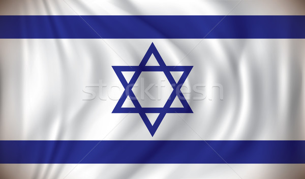 Stock photo: Flag of Israel