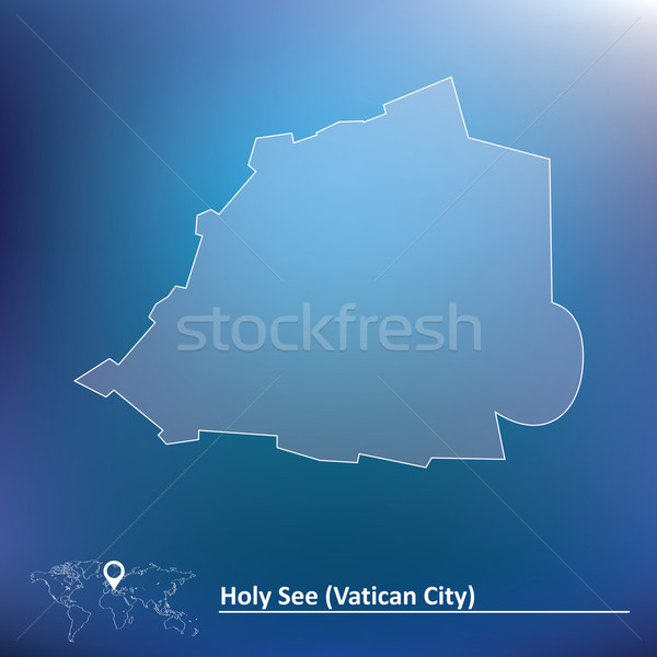 Map of Vatican Stock photo © ojal