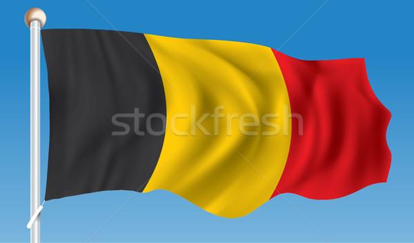 Flag of Belgium Stock photo © ojal
