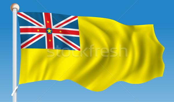 Flag of Niue Stock photo © ojal