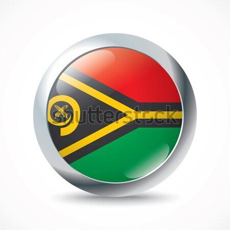 Guyana zászló gomb textúra művészet utazás Stock fotó © ojal