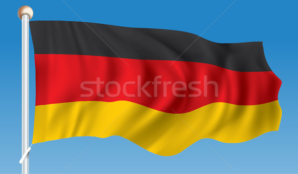 Flag of Germany Stock photo © ojal