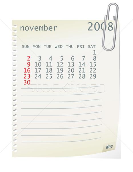 november 2008 Stock photo © ojal