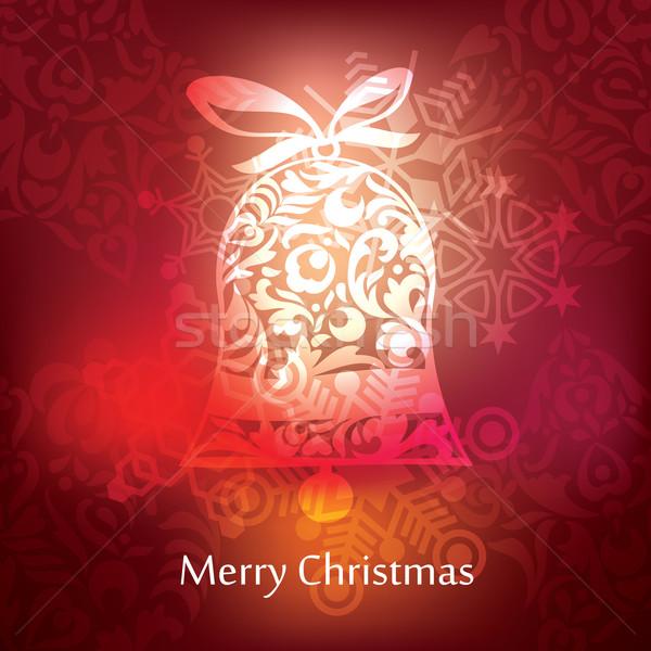вектора Рождества открытки дизайна аннотация шаблон Сток-фото © ojal
