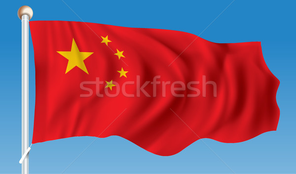 Flag of China Stock photo © ojal