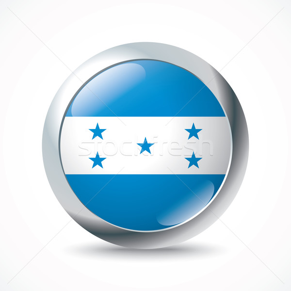 Honduras flag button Stock photo © ojal