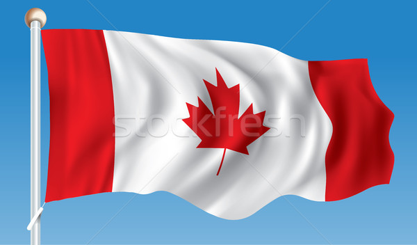 Flag of Canada Stock photo © ojal