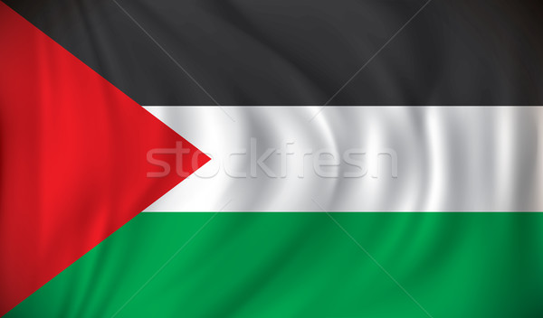 Flag of West Bank Stock photo © ojal