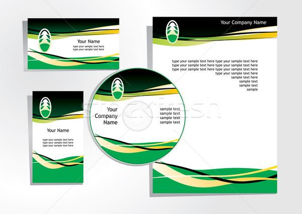 corporate identity Stock photo © ojal