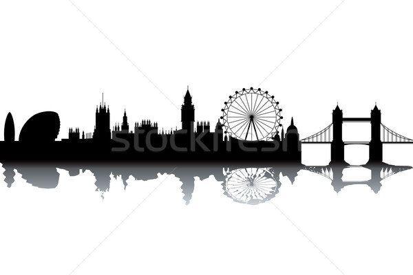 London skyline Stock photo © ojal