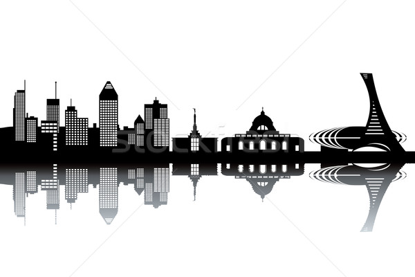 Montreal skyline Stock photo © ojal