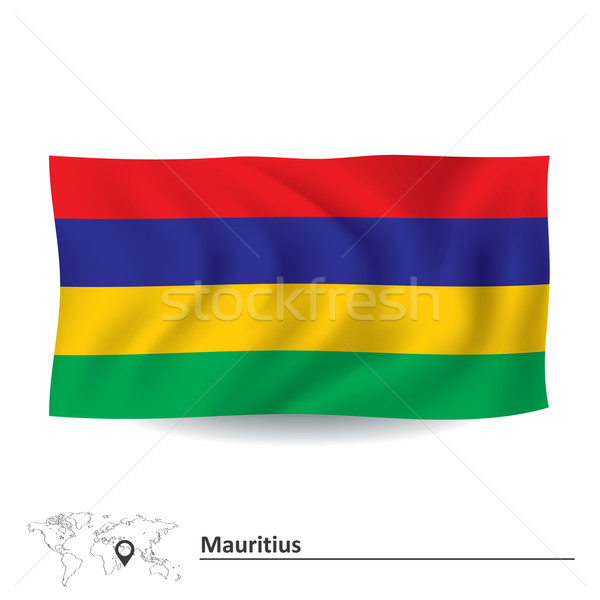 Flag of Mauritius Stock photo © ojal