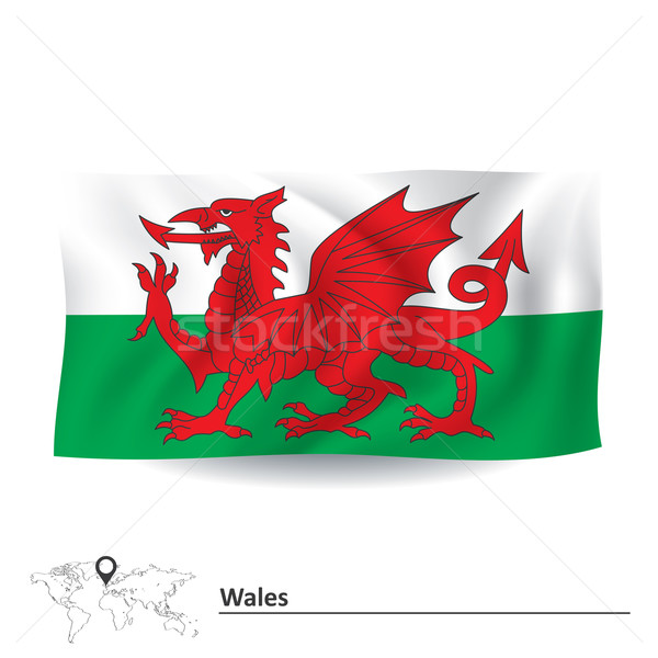 Flag of Wales Stock photo © ojal