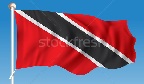 Flag of Trinidad and Tobago Stock photo © ojal