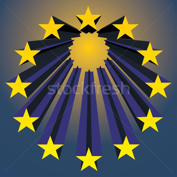 simbol of european union Stock photo © ojal