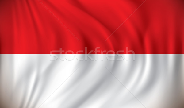 Flag of Monaco Stock photo © ojal
