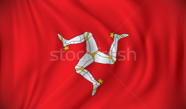 Flag of Isle of Man Stock photo © ojal