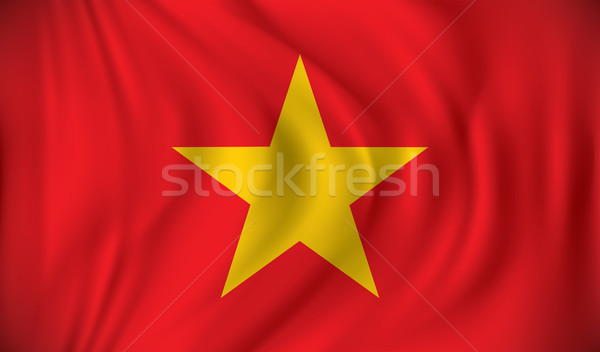 Flag of Vietnam Stock photo © ojal