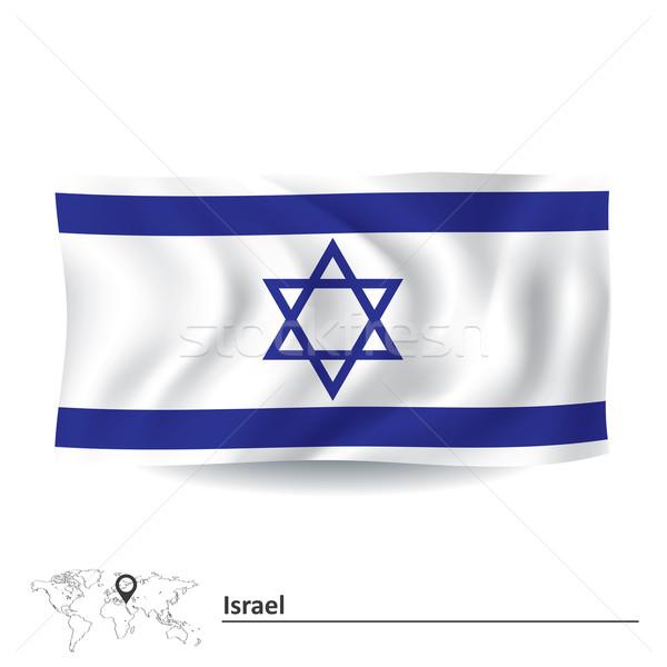 Flag of Israel Stock photo © ojal