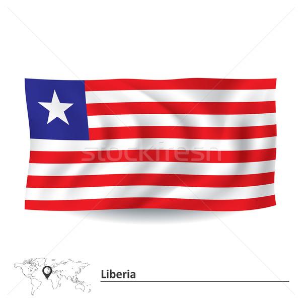 Flag of Liberia Stock photo © ojal