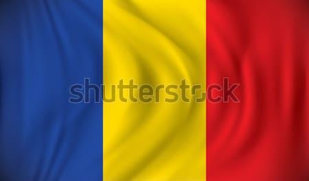 флаг Румыния дизайна фон искусства знак Сток-фото © ojal