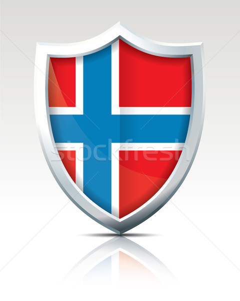 Shield with Flag of Bouvet Island  Stock photo © ojal