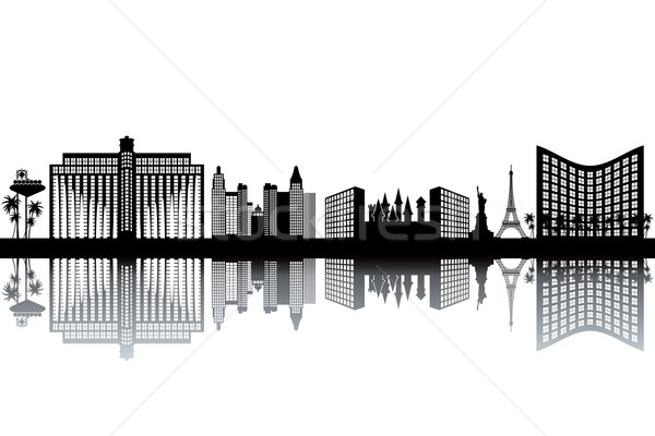 Las Vegas skyline Stock photo © ojal