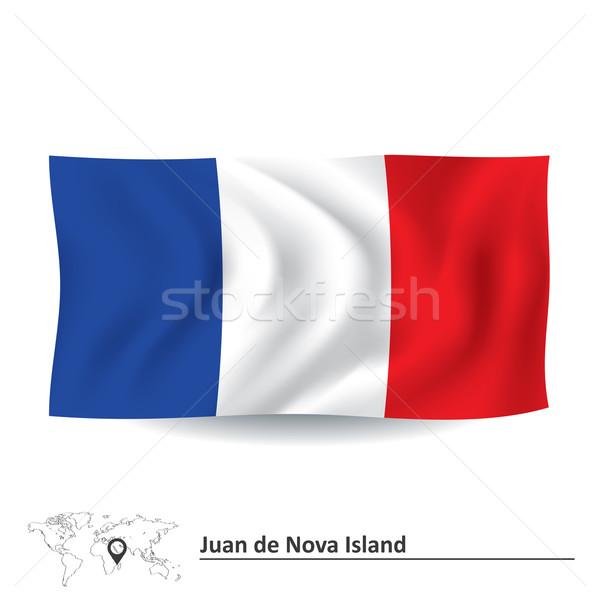 Flag of Juan de Nova Island Stock photo © ojal