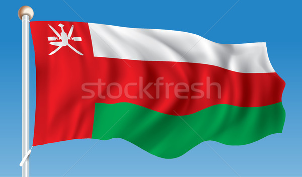 Flag of Oman Stock photo © ojal