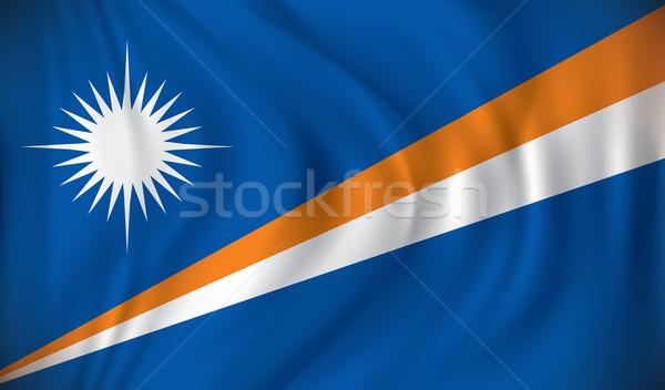 Bandiera mappa design sfondo viaggio Foto d'archivio © ojal