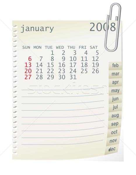 january 2008 Stock photo © ojal