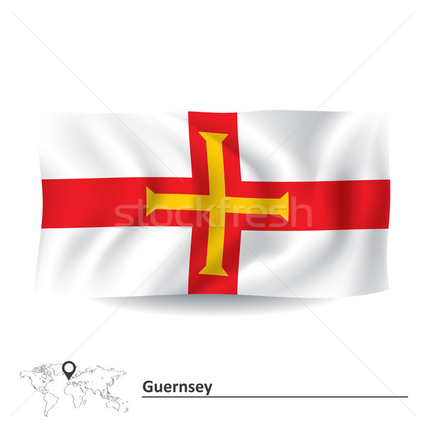 Flag of Guernsey Stock photo © ojal