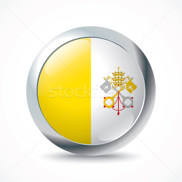 Vatican flag button Stock photo © ojal