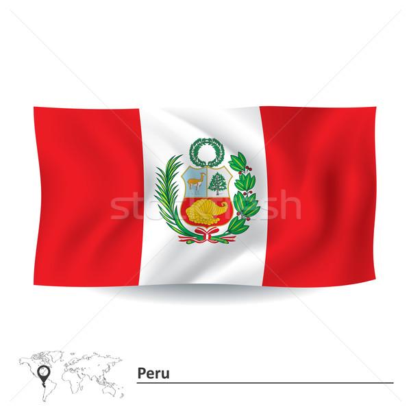 フラグ ペルー テクスチャ 抽象的な 背景 旅行 ストックフォト © ojal