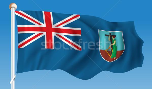 Flag of Montserrat Stock photo © ojal