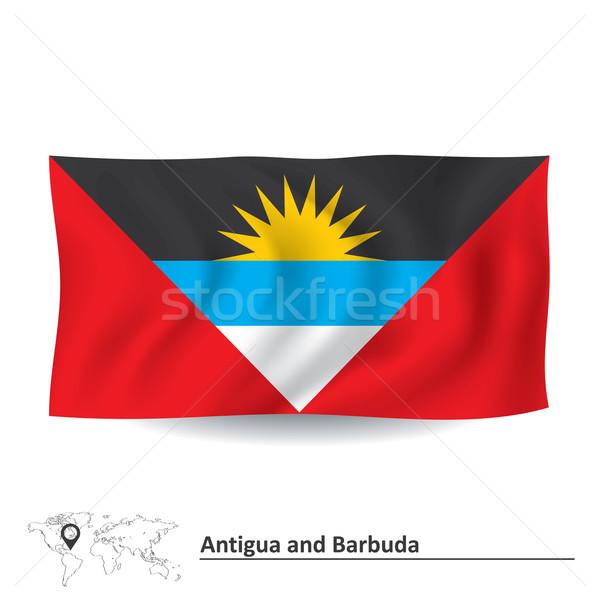 Flag of Antigua and Barbuda Stock photo © ojal