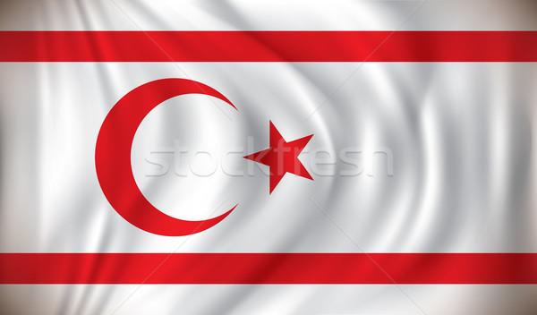 Flag of Northern Cyprus Stock photo © ojal