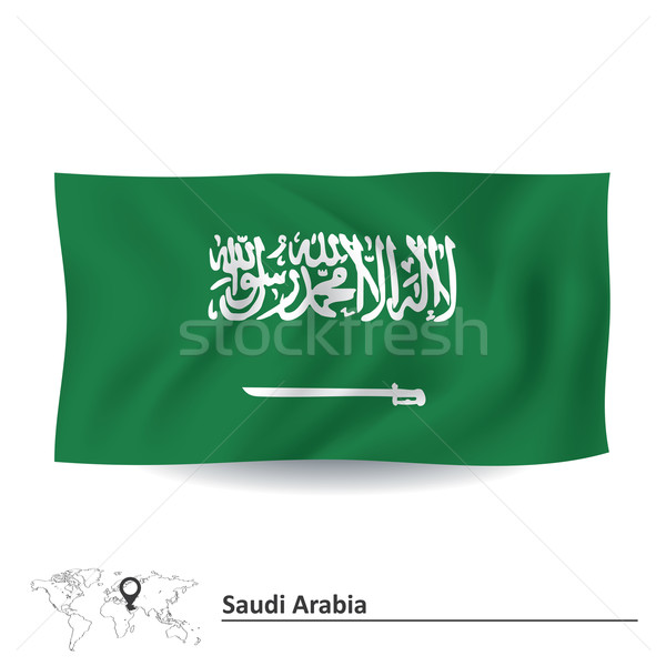 Flag of Saudi Arabia Stock photo © ojal