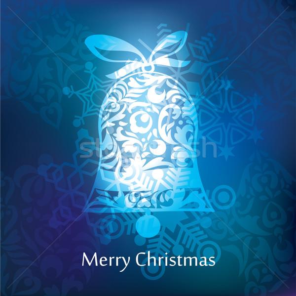 Vector christmas postcard design Stock photo © ojal