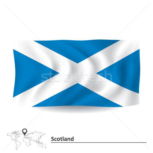 Flag of Scotland Stock photo © ojal