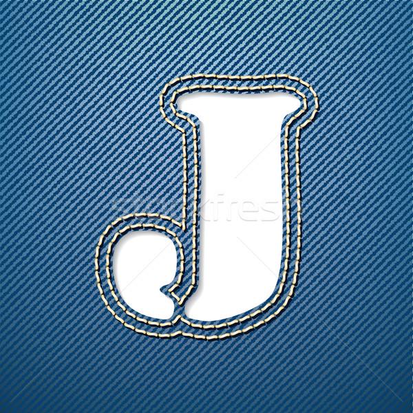 Denim jeans carta tejido tela hermosa Foto stock © ojal