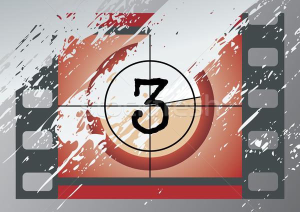 Film countdown clip art