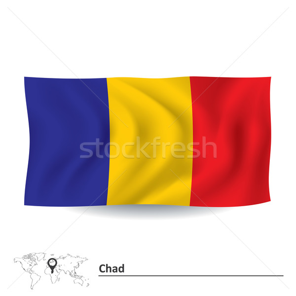 Flag of Chad Stock photo © ojal